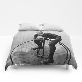 Velocipede racer Comforters