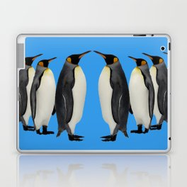 Penguins on Parade Laptop & iPad Skin