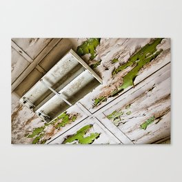 A Peeling Ceiling Canvas Print