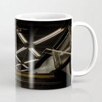 subway Mugs featuring SUBWAY by paulmhoward