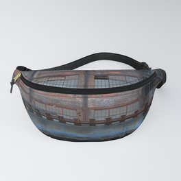 Steel Yard Train Track Bridge Fanny Pack