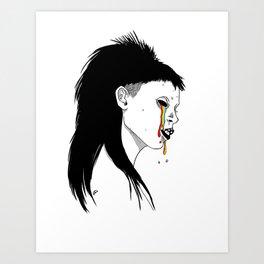 Yolandi Visser Art Print