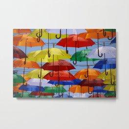 Umbrela Metal Print