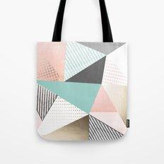 Pastel sunrise Tote Bag