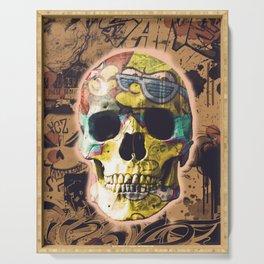 Urban skull 2 Serving Tray