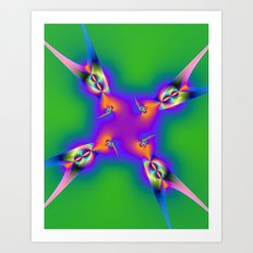 Swallow tails Art Print