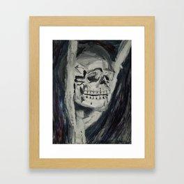 Skull Still-Life Framed Art Print
