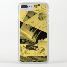 Postcards Clear iPhone Case