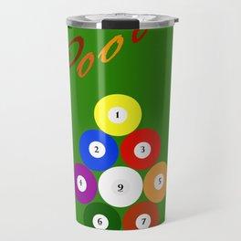 Pool 9. Color Travel Mug