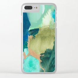 Fairy Forest Clear iPhone Case