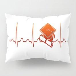 Student Heartbeat Pillow Sham