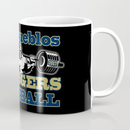 Dos Pueblos Chargers Football Fan Coffee Mug