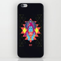 om iPhone & iPod Skins featuring Om by RJ Artworks