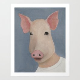 Year of the Pig Art Print