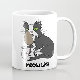 Meow Life Coffee Mug