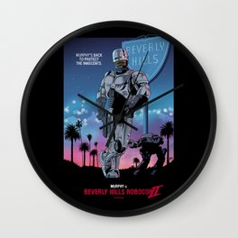 Beverly Hills Robocop 2 Wall Clock
