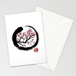 Japanese ENSO ZEN Buddhist SHIRT Stationery Cards