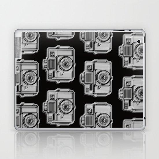 I Still Shoot Film Holga Logo - Black Laptop & iPad Skin