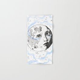 Moon Man Hand & Bath Towel