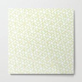 Jali Fusion - Green Metal Print