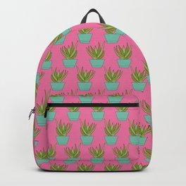 Aloe My Friend | Hot Pink Backpack