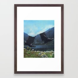 123 - where to next Framed Art Print