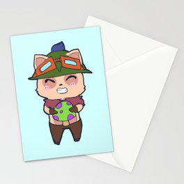 Cute Teemo design Stationery Cards