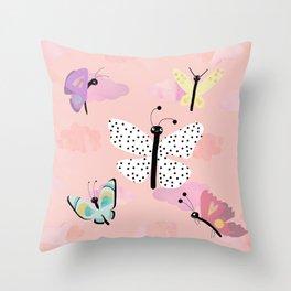 Butterfly Close Up. Throw Pillow