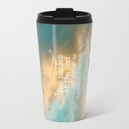 Life Begins Design Travel Mug