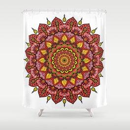 Mandala Passione Shower Curtain