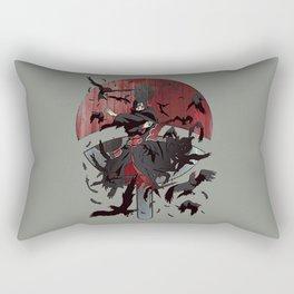 Itachi Uchiha Jutsu Rectangular Pillow