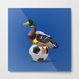 Fowl (Colour) Metal Print