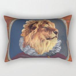 GENTRIFIED BOURGEOIS LION Rectangular Pillow