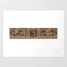 3 Avenue Art Print