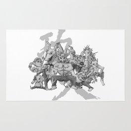 KungFu Zodiac Rug