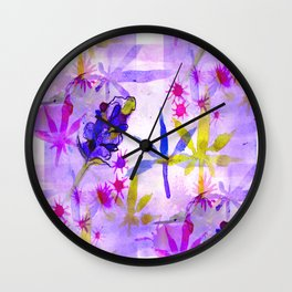 Purpleberry Kush Wall Clock