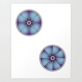 Mandala Project Five Art Print