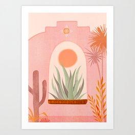 El Sol / Desert Landscape Art Print