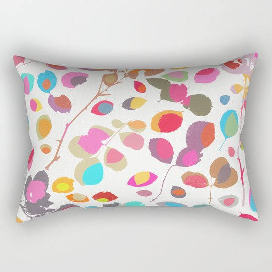 wildrose 5 Rectangular Pillow