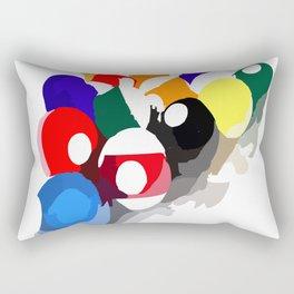 balls billiard Rectangular Pillow