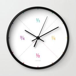 Wanduhr-Design-Minimalistisch-Viertel-Halb-Um Wall Clock