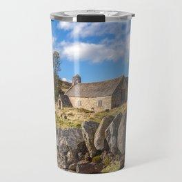 Ancient Welsh Church Travel Mug