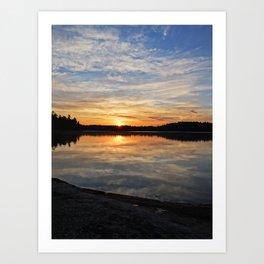 Minnesota Sunrise Art Print