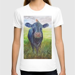 Cow and a Robin T-shirt
