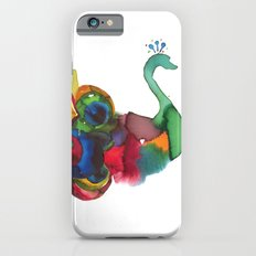 colorful peacocks iPhone 6s Slim Case