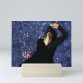 Back to the light Mini Art Print