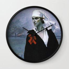 La France Croisee Romaine Brooks Wall Clock