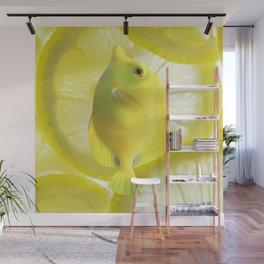 Lemon Fish Wall Mural