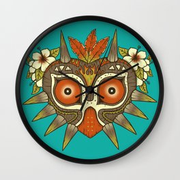 Tiki Majora Wall Clock
