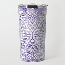 Marble Mandala Twist XI Travel Mug